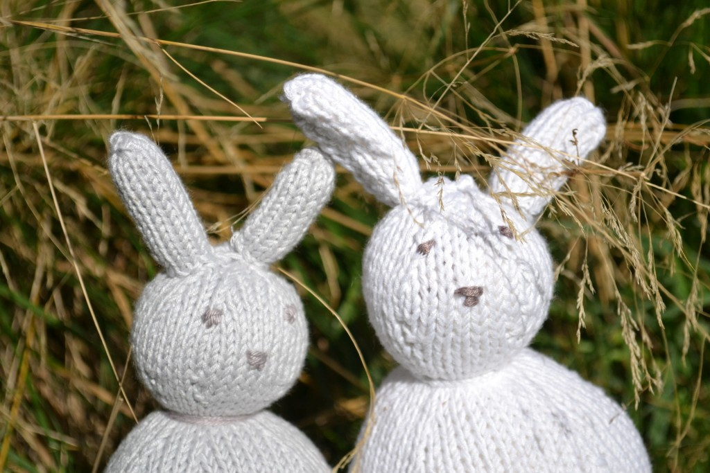 lapin tricoté 1