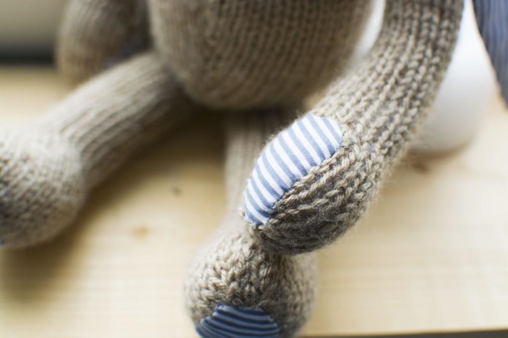 petites broutilles lapin tricote2