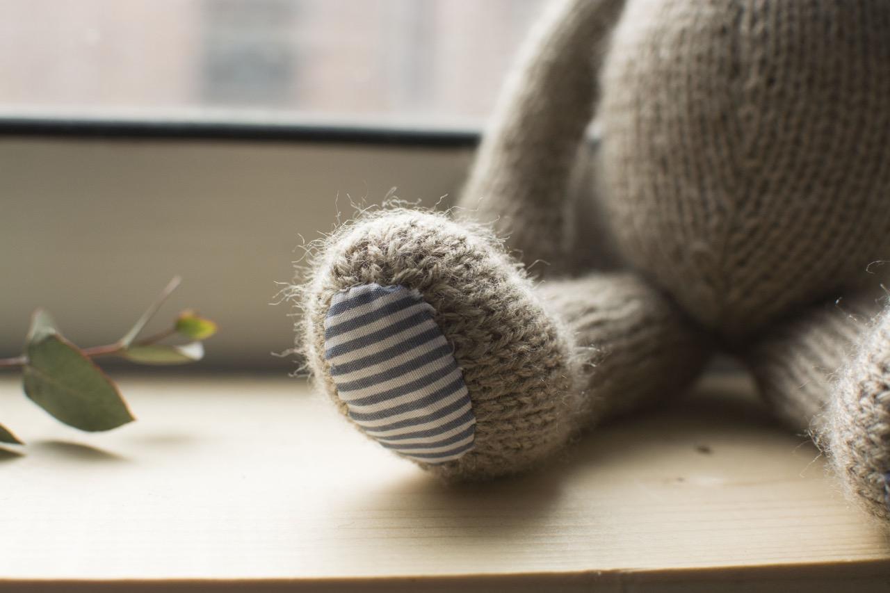 patron tricot lapin