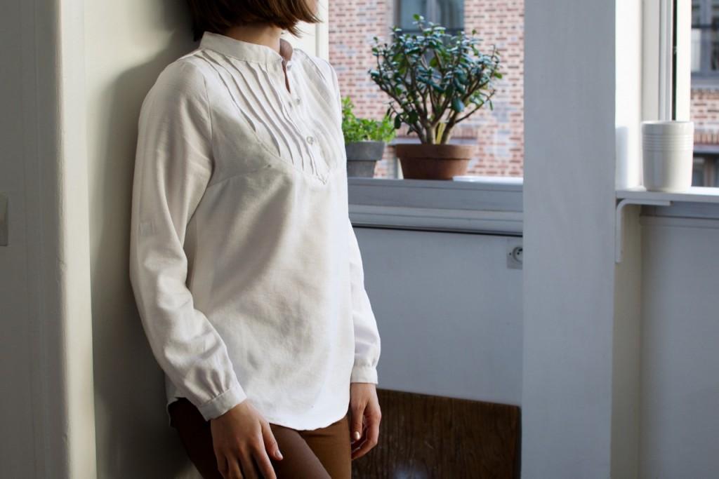 Petites broutilles blouse blanche - 1