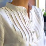 Petites broutilles blouse blanche - 2