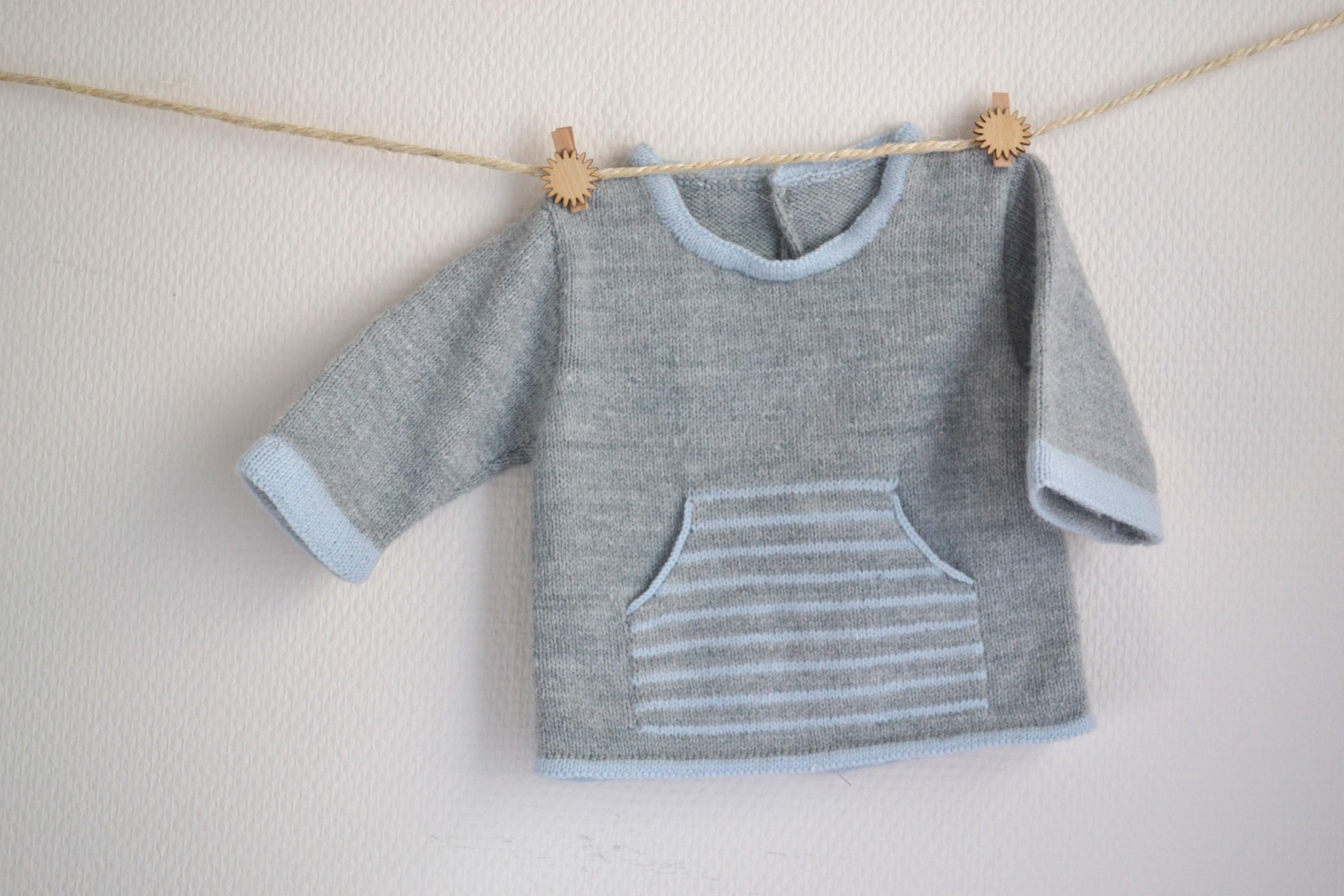 tuto tricot gratuit bebe